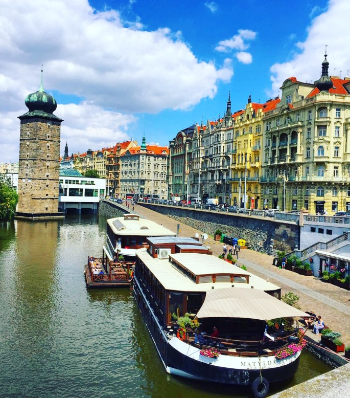 prague-waterway