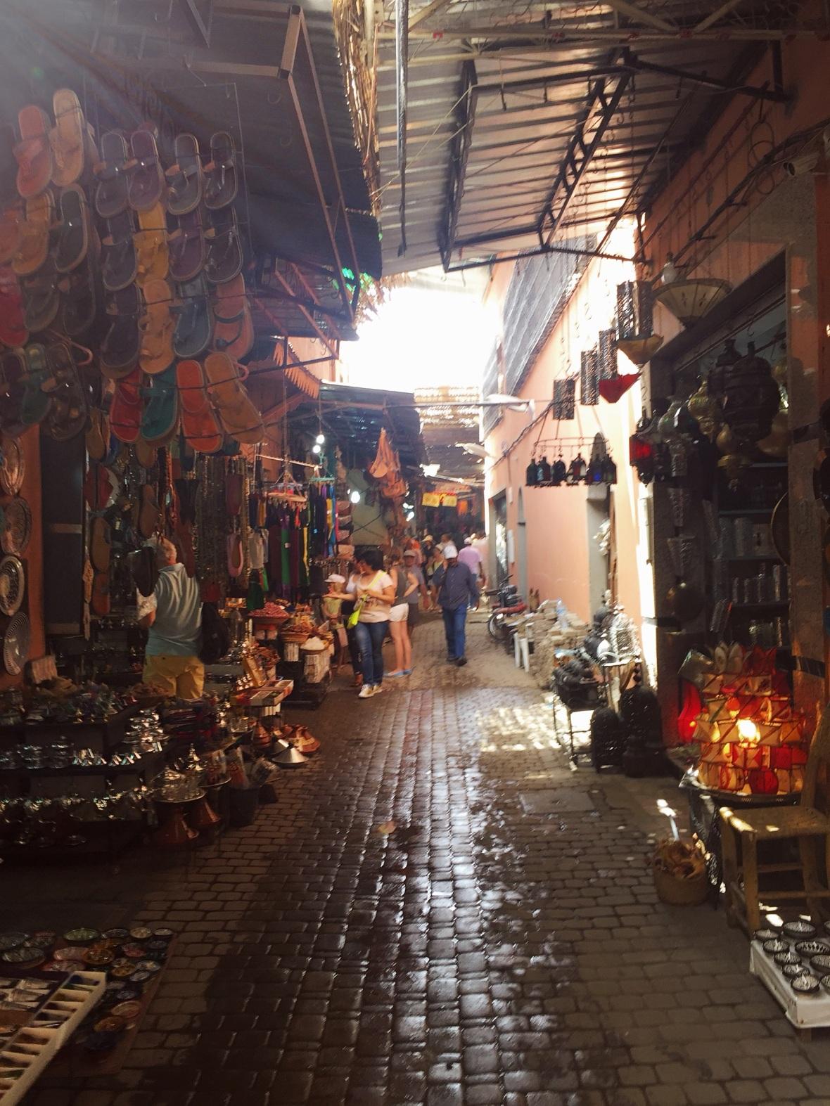 Morocco Souk
